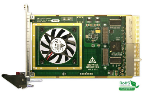 XMC to CompactPCI adapter, use a XMC data acquisition and FPGA board in a CompactPCI rack.