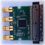 TLK2711a WizardLink SerDes interface board for X3-DIO