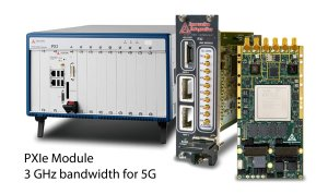 PXIe to XMC adapter and XMC TX module for 5G testing