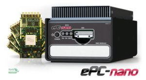ePC nano - standalone PC with XMC site for data acquisition with ethernet.