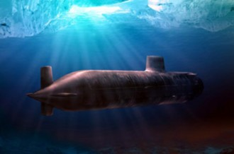 Submarine Sonar Algorithm Simulation
