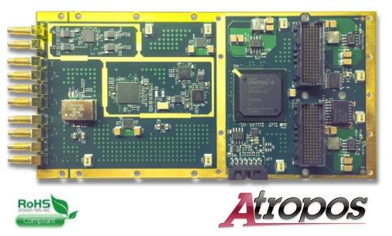 Atropos - Sample clock generation XMC board