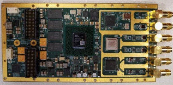PCIe XMC Module 2x500 MSPS A/Ds, 2x615 MSPS DACs Artix-7 FPGA